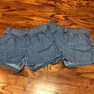2️⃣Children's Place 10 Plus Denim Shorts